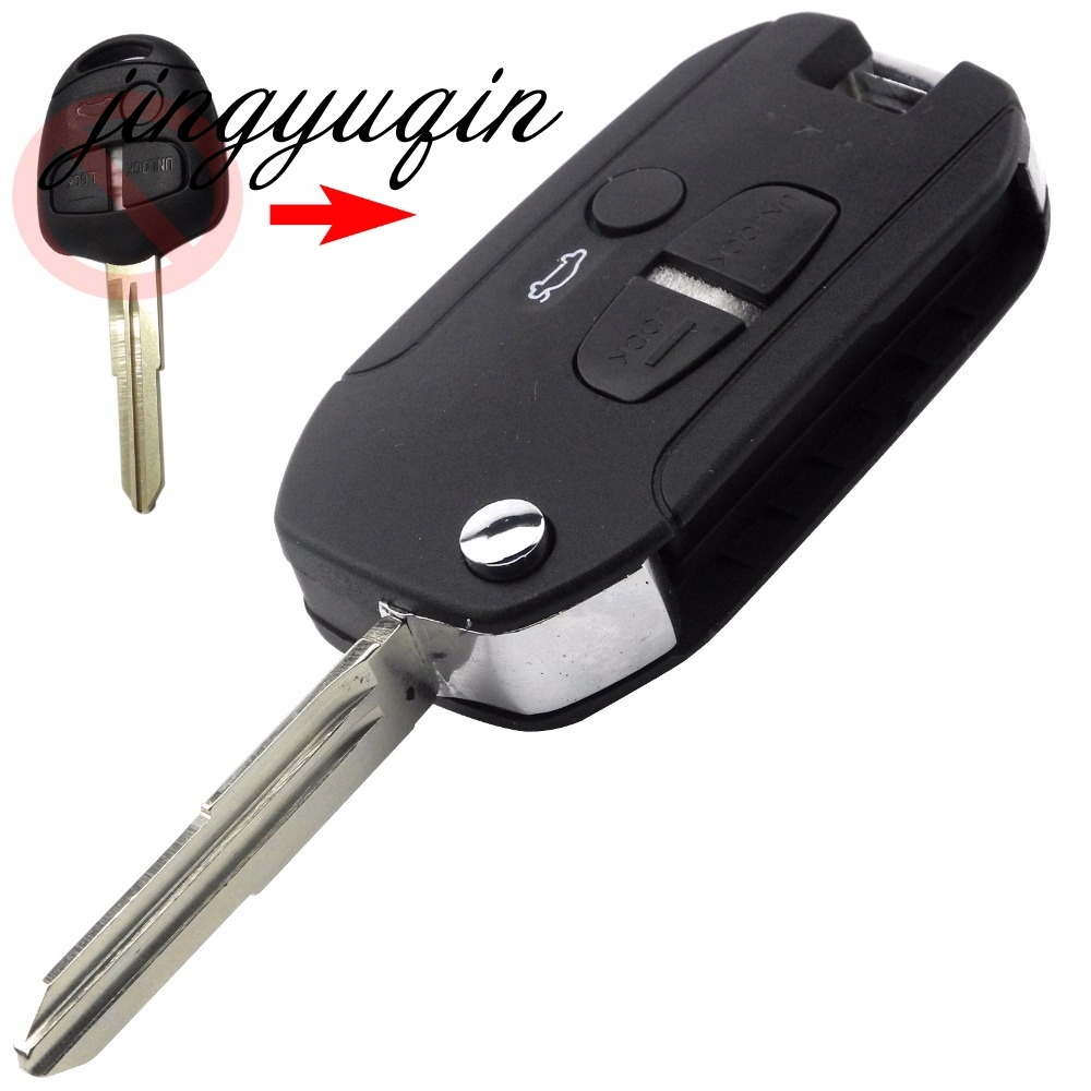 Bmwfort Access Key Replacement: Jingyuqin Right Blade Key Shell For Mitsubishi Lancer EVO