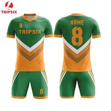 94f72071602 Newest Design Sublimated Oem Mens Football Jerseys Set Custom Any Color  Players Name And Number Soccer