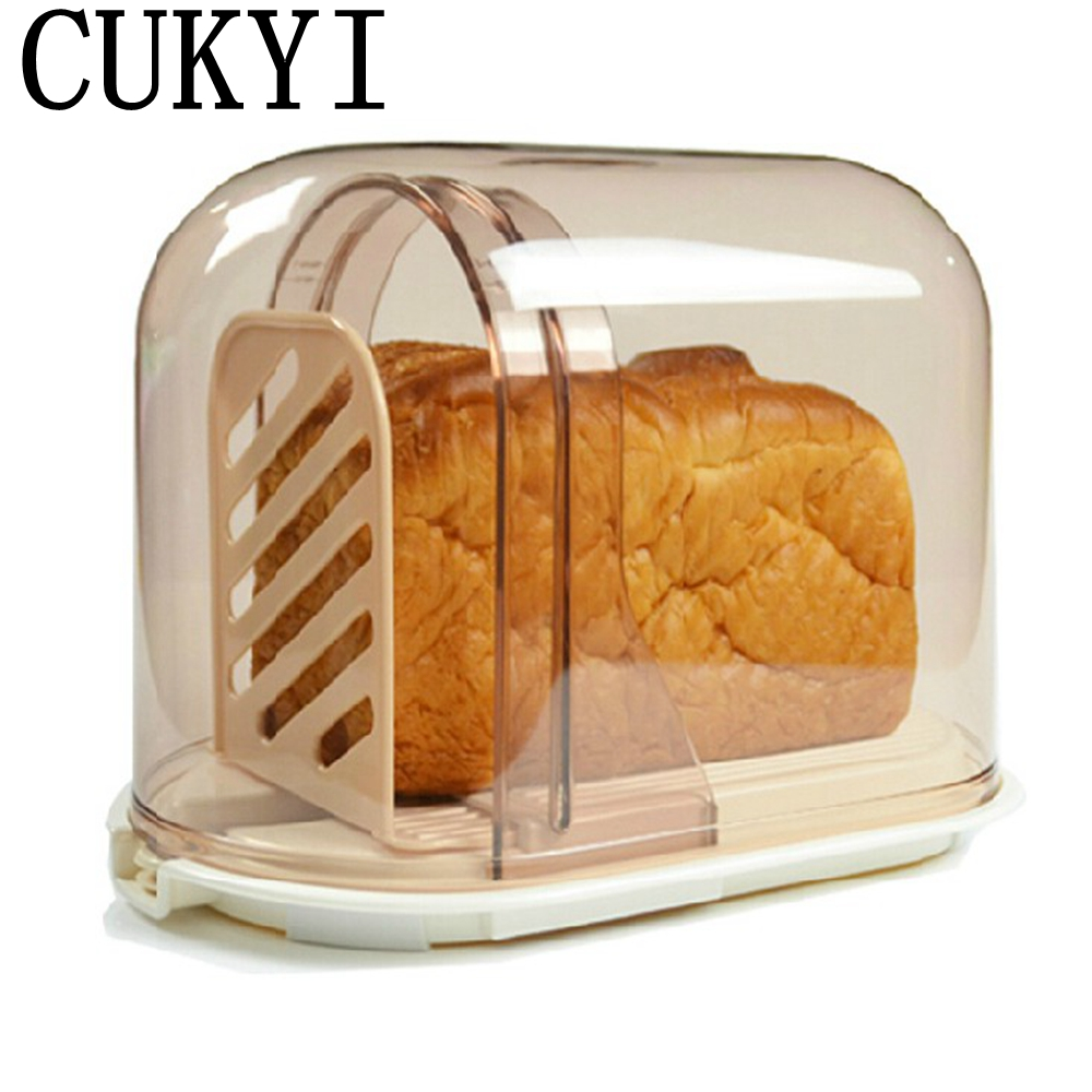 CUKYI Toast Bread Slicer Cutting Rack  Storage Box Crisper гриль ariete toast