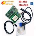2014 R2 tcs cdp Cdp Oki (Viruta de M6636B OKI) Herramienta de diagnóstico de Tcs Cdp Pro PLus Con OKI + Bluetooth Tcs cdp Escáner Envío Gratis