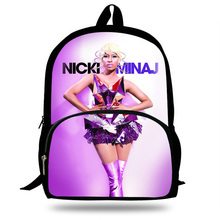 hot deal buy nicki minaj pattern children school bags for girls high quality orthopedics backpack school bags leisure  bag mochila infantil