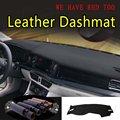 Кожаный чехол для приборной панели Dashmat ковёр для автомобиля Стайлинг Аксессуары для Volkswagen VW jetta A7 GTI 2019 2020 2021