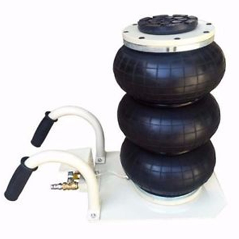 3 Ton 3 bag Pneumatic Air Jack Triple Bag Air Jack Inflatable Air jack free shipping new arrival 4 ton exhaust air jack auto jack for sedan and suv ce certificate