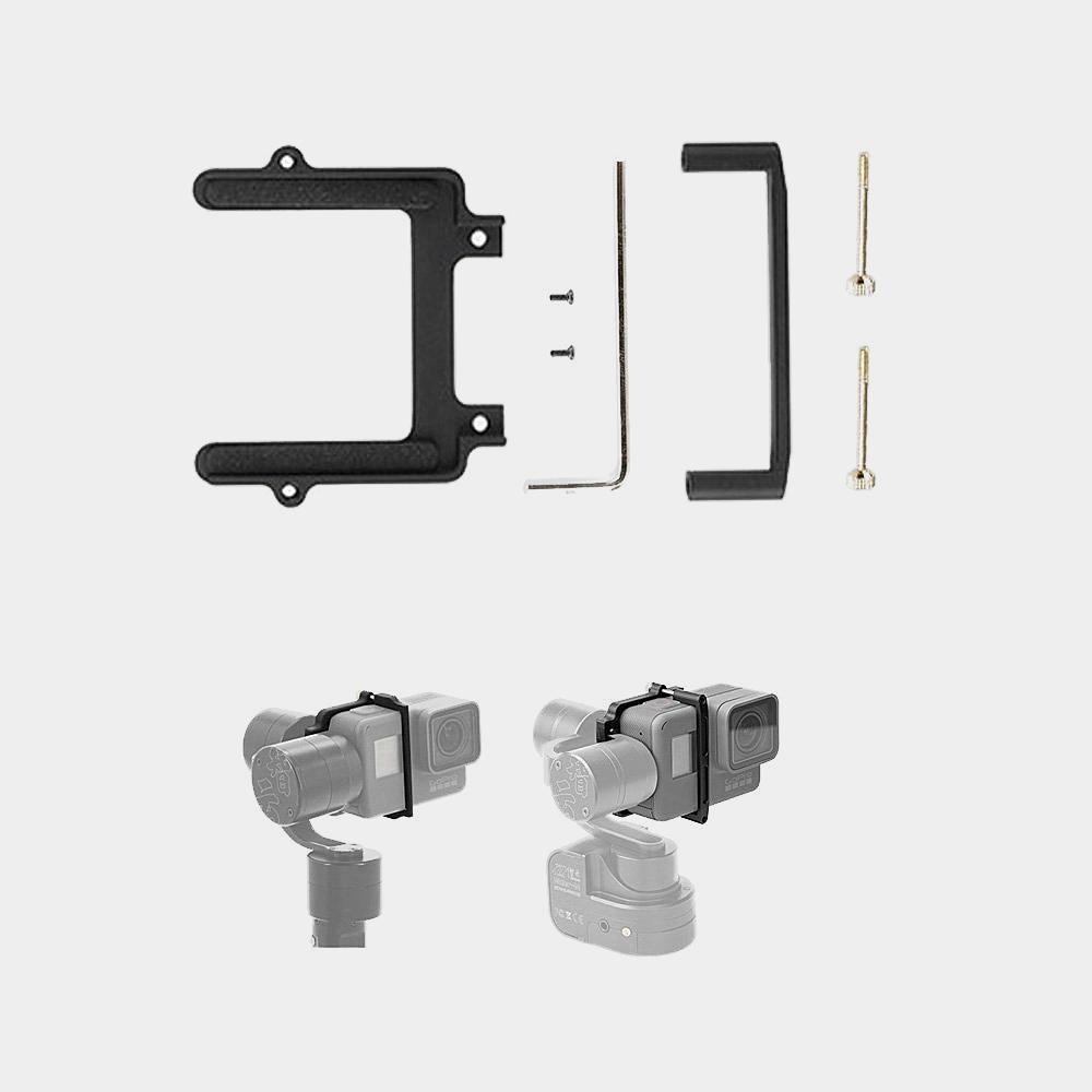 Prix pour IFlight GoPro Hero 5 Mount Adapter pour gopro hero 5 accessoires pour zhiyun z1 l'évolution/rider m/Tiny2