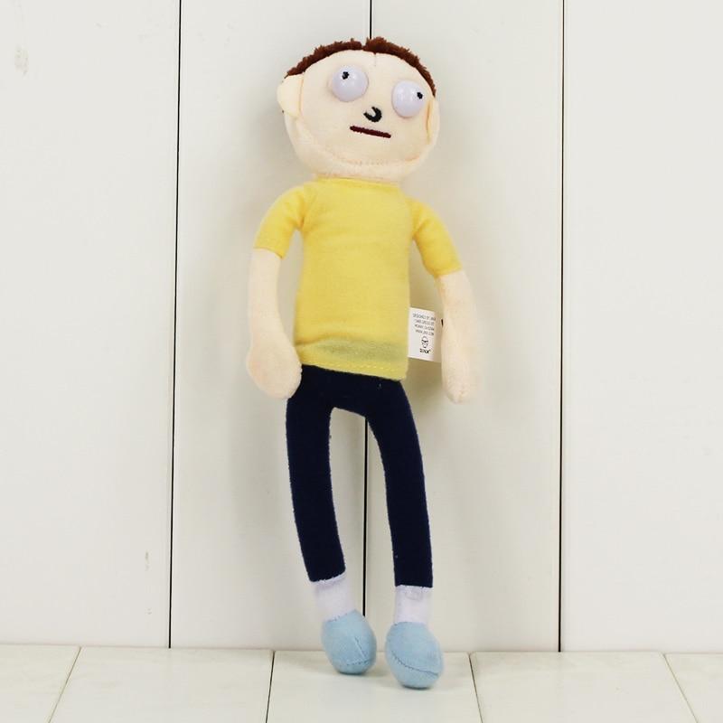 Рик и Морти плюшевые игрушки Sanchez Smith Mr Meeseeks Jerry Summer poopybuttole счастливый сад учёный мягкие куклы - Цвет: E