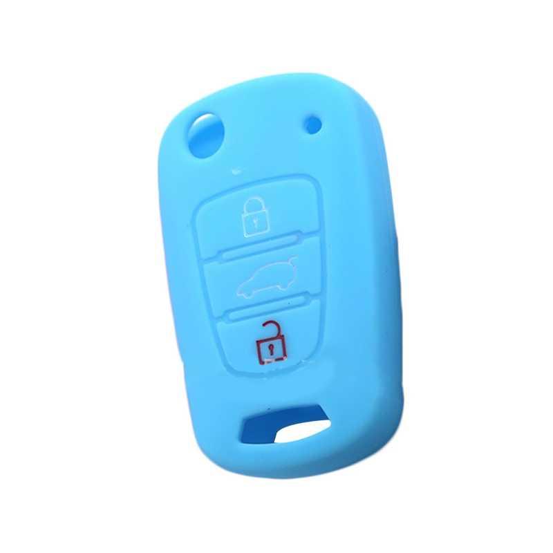 سيليكون مفتاح غطاء صالح هيونداي I20 I30 I35 IX20 IX35 سولاريس فيرنا للطي مفتاح حالة لكيا ريو K2 K5 سبورتاج سورينتو