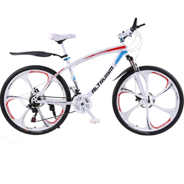ALTRUISM Q1 21 Скорость Горный Велосипед Стальной Двойной Механические Дисковые Тормозные Велосипеды 26 дюймов MTB Шоссейные Велосипеды