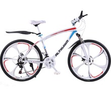 Altruism Q1 21 Speed Mountain Bike Bicycle Steel Double Mechanical Disc Braking Bikes 26 inch MTB Road Racing Bicycle