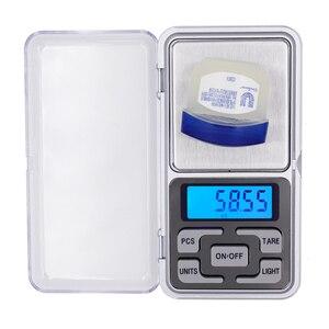 Image 1 - 50 stks/partij 0.01g 200g Digitale Wegen Pocket Sieraden Weegschaal LCD display met achtergrondverlichting balance Met doos 20% off