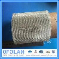 Diamond отверстие 2,5 мм x 4,5 мм серебро расширена сетка фильтра 10 см x 10 см Поставка со склада