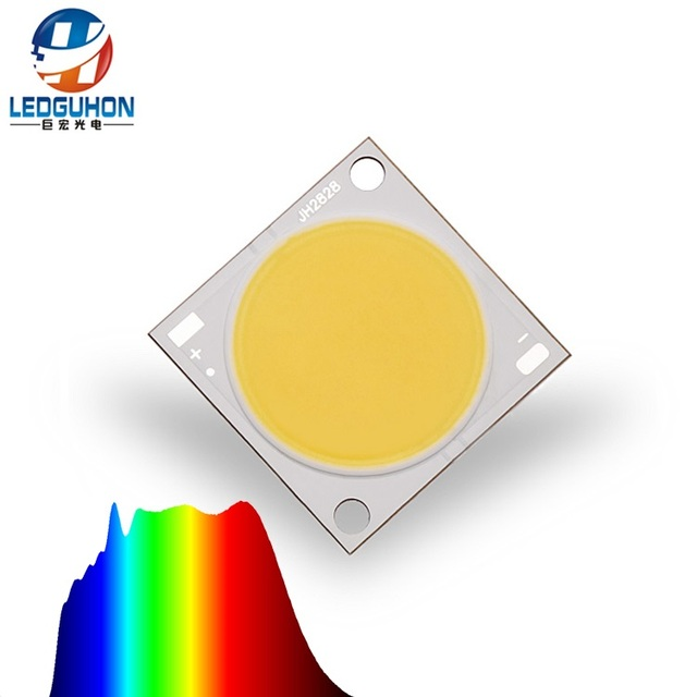 50 w 5000 K hohe CRI volle spektrum sonnenlicht cob led 24,5mm licht bereich