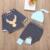 Niño Ropa de Bebé Niño Establece Primavera Sombreros + T-shirts + Pants 3 unids Bebé Recién Nacido Arropa Sistemas navidad Niño Ropa Del Muchacho Set