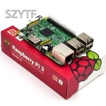 Wholesale prices 2016 New Original Raspberry Pi 3 Model B Board 1GB LPDDR2 BCM2837 Quad-Core Ras PI3 B,Ras PI 3B,Ras PI 3 B with WiFi&Bluetooth
