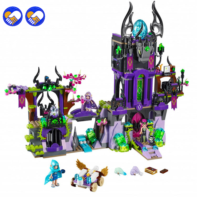 A toy A dream BELA 10551 Elves Series Ragana's Magic Shadow Castle Building Blocks Classic For Girl Kids Model Toys Legoingly a toy a dream lepin 24027 city series 3 in 1 building series american style house villa building blocks 4956 brick toys