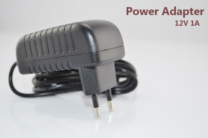 DC 12V 1A Power Adapter EU/US/UK/AU plug for security surveillance cctv camera analog or ip cameras power supply qualified ac 110 240v to dc 12v 1a cctv power supply adapter eu us uk au plug abs plastic