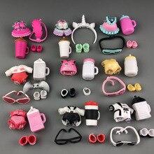 Набор оригинальной кукольной одежды, очки, бутылки, аксессуары для обуви для кукольных аксессуаров, горячая распродажа