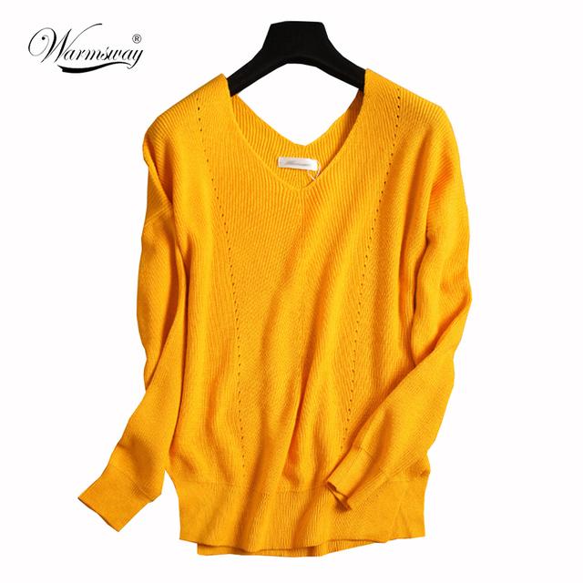 Camisola das mulheres Moda Outono Pullover De Lã Das Mulheres Capas E Ponchoes Oco Out sexy Puxar Femme Mulheres Jumpers WS-104