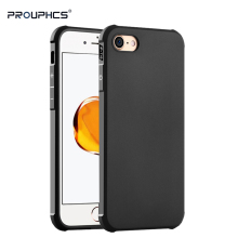 Prouphcs For iPhone 7 Case Soft Silicone TPU Cover Case for iPhone 8 Plus 7 Plus Full Protective Shockproof Case