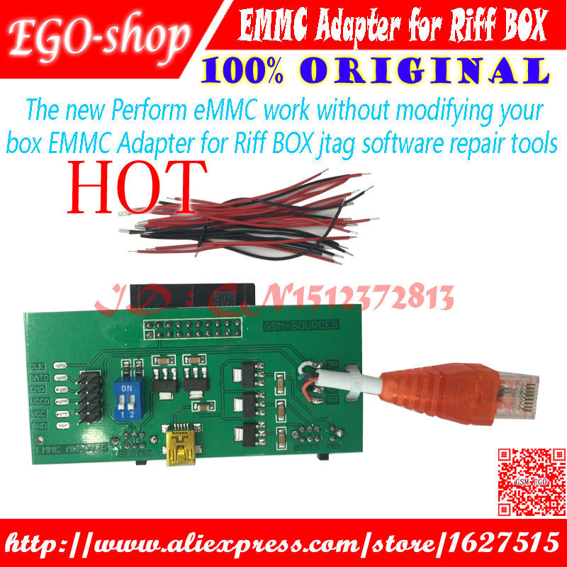 The new Perform eMMC work without modifying your box EMMC Adapter for Riff BOX jtag software repair tools scotch thermal laminating pouches