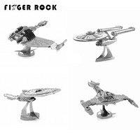 New Arrival 3D Metal Puzzles Star Trek USS Enterprise NCC 1701 Fun DIY Jigsaw Toy Children