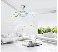 Ceiling fan Five level Domestic electric ceiling Living room, hotel restaurant Three blades knob switch