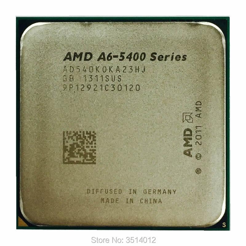 AMD A6 Series A6 5400 A6 5400 A6 5400B A6 5400K 36 GHz Dual Core