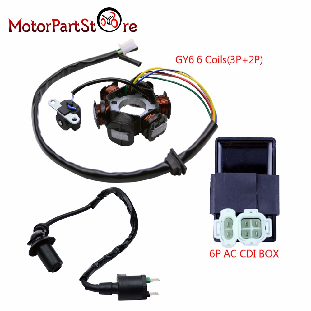 6 Pin Ac Cdi Box Wiring Diagram Pir Sensor Kymco Plug Harness Schematic