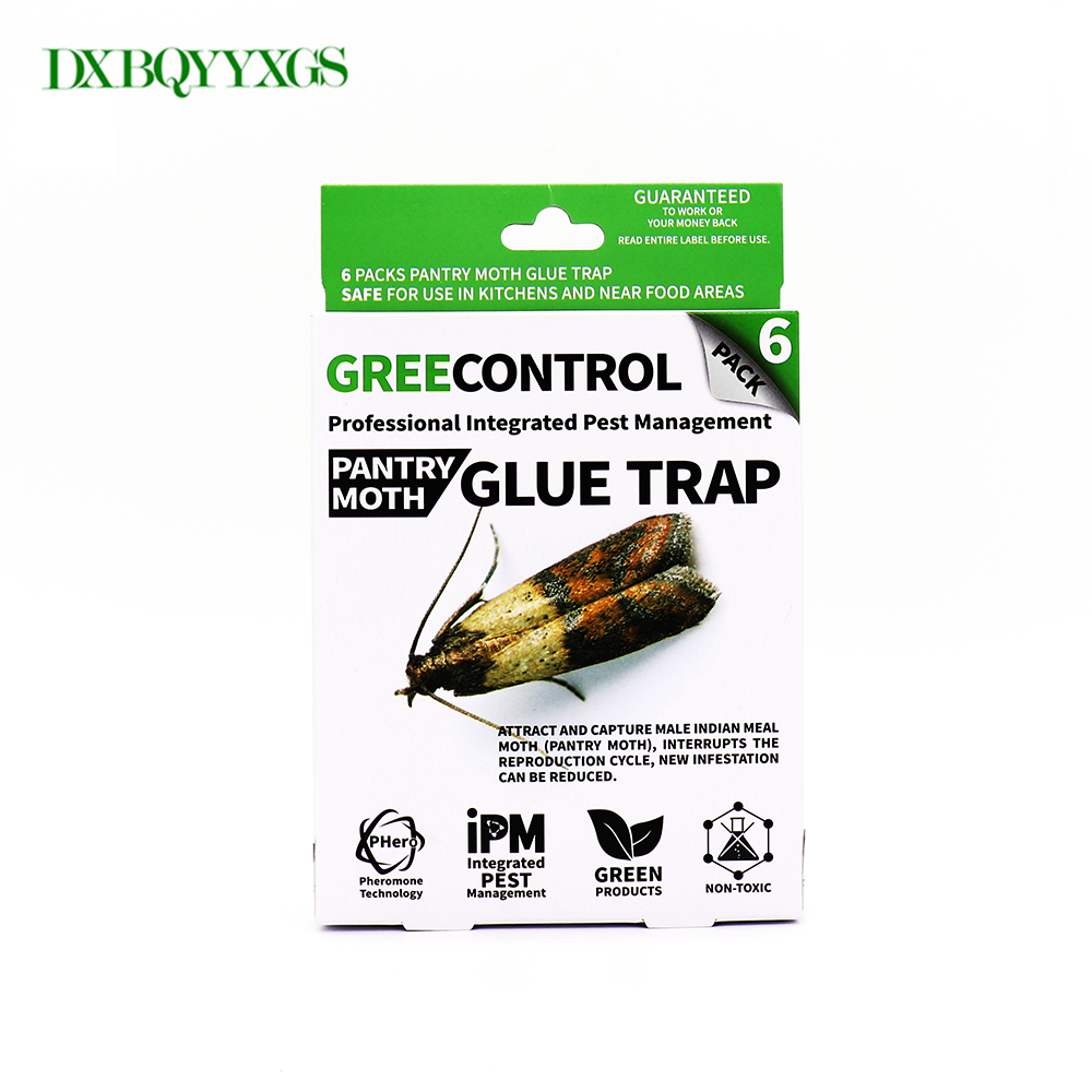 DXBQYYXGS 6PCS Moth trap for insects Mole Repeller pest reject fly trap insects Family India Valley moth killer Pest Control