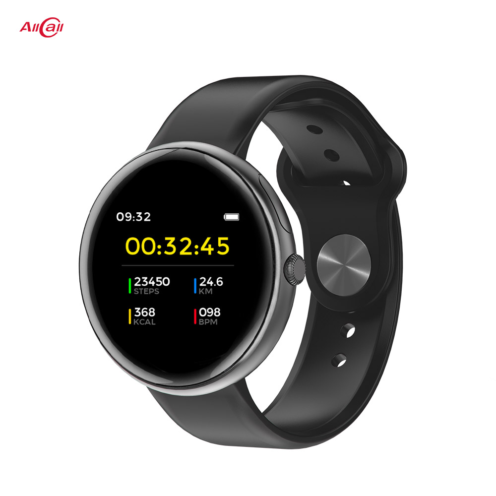Original Allcall AC01  IP68 Waterproof Fitness Tracker Heart Rate Monitor Bluetooth 4.0 Smartwatch Fitness Tracker For Men Women