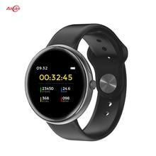 Allcall AC01 IP68 wodoodporne inteligentne zegarki Tracker pulsometr Bluetooth 4.0 bransoletka Fitness Sport mężczyźni kobiety Smartwatch
