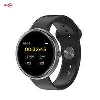 Oryginalny Allcall AC01 IP68 wodoodporna opaska monitorująca aktywność fizyczną pulsometr Bluetooth 4.0 Smartwatch opaska monitorująca aktywność fizyczną dla mężczyzn w Inteligentne zegarki od Elektronika użytkowa na