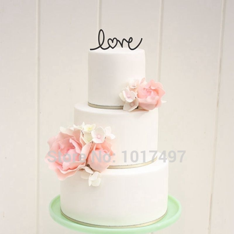 Famous Wedding Cake Serving Set Tall Wedding Cakes Prices Regular Beach Wedding Cakes Cupcake Wedding Cake Old Whole Foods Wedding Cake YellowWedding Cake Frosting Types Aliexpress.com : Buy Wedding Cake Decor LOVE With Heart Wedding ..