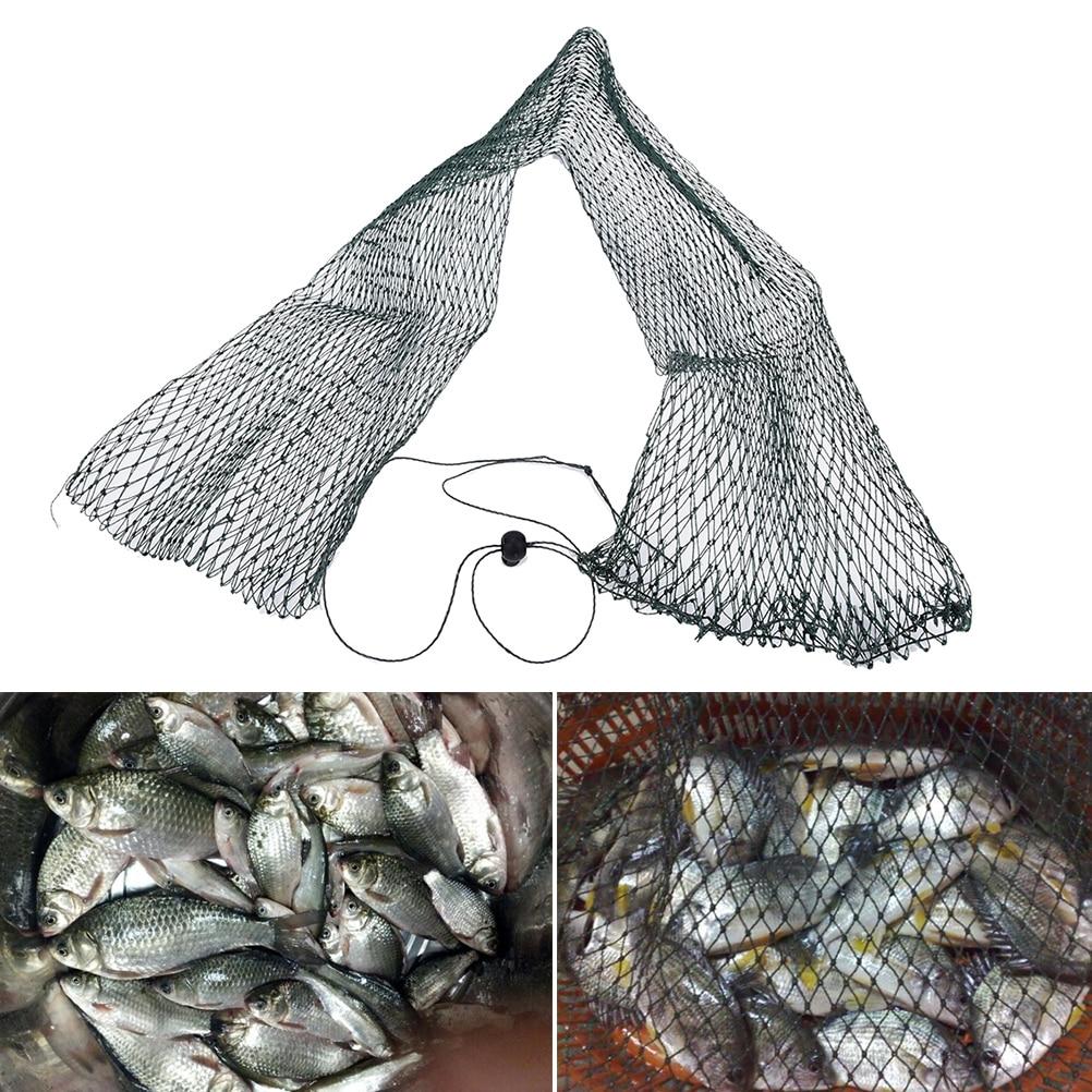 High Quality New 1pc Nylon Foldable Fishing Nets Fish Pot Trap Filet De Peche Rete Pesca Fish Drying-fishing-net Creels