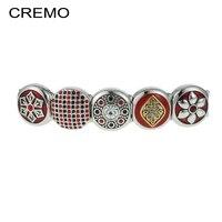 Cremo Original Designed for women Vintage Flower Modular Links Bracelet Accessories Elegant Geometric patterns Holiday gifts