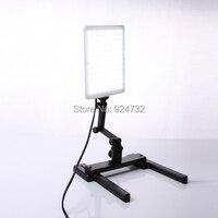 CN T96 5600K 96PCS LED Light Lamp 18W With Mini Shooting Bracket Stand Set Kit