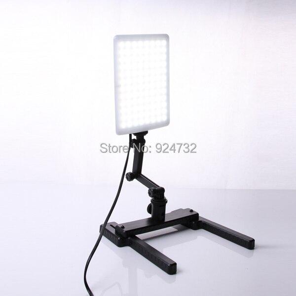 CN-T96 5600 Karat 96 STÜCKE LED Licht Lampe 18 Watt mit Mini Schießen Halterung Ständer Set Kit in Fotolampen