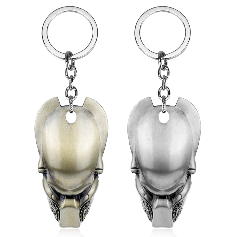 Брелок маска для ключей Alien Predator, автомобильный брелок брелок с подвеской Брелоки      АлиЭкспресс