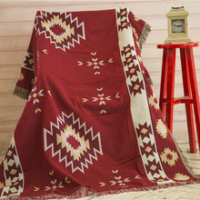 ФОТО system home furnishing pad posimi second cotton blanket cotton blanket sofa of cloth cover carpet the tablecloth package postal