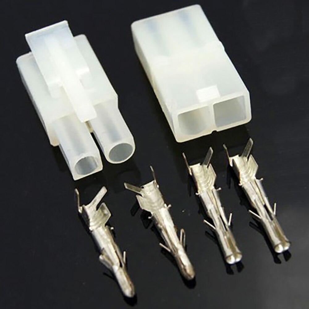 5pairs Big Tamiya 2 Pin L6.2-2P Connector Plug Male female airsoft gun battery