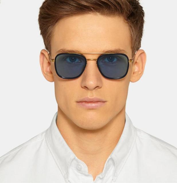 2fd2bc19fcb thom browne AW14 sunglasses men brand retro vintage round sunglasses women Thom  Browne sunglasses Hipster vintage
