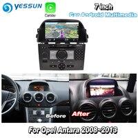YESSUN For Opel Antara 2008~2013 Car Android Carplay GPS Navi maps Navigation Player Radio Stereo Multimedia HD Screen No CD DVD