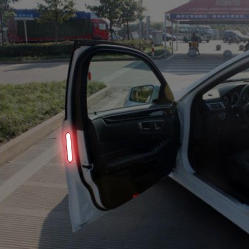 Image 3 - Car Door Reflective Warning Tape for Opel Antara Astra K J H G Crossland X Grandland X Insignia Mokka X Signum-in Car Tax Disc Holders from Automobiles & Motorcycles