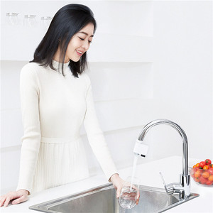 Image 3 - Youpin xiaoda חכם חיישן ברז חיישן אינפרא אדום אוטומטי שומר מים ברז נגד הצפת מטבח אמבטיה אינדוקטיביים רז