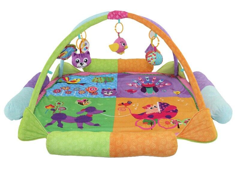 Bébé développement tapis fitness étagère tapete infantil puzzle tapis gym jouer tapis jouets pour enfants