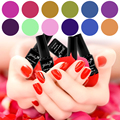 Soak Off UV/LED Gel Nail Polish Base Gel Top Coat for Nail Art Color Gel 96 Fashion Colors optional 2017 Newest Color