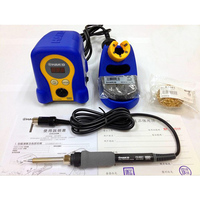 New 70W 220V HAKKO FX 888D Fx888 888 Solder Soldering Iron Station With Digital Display