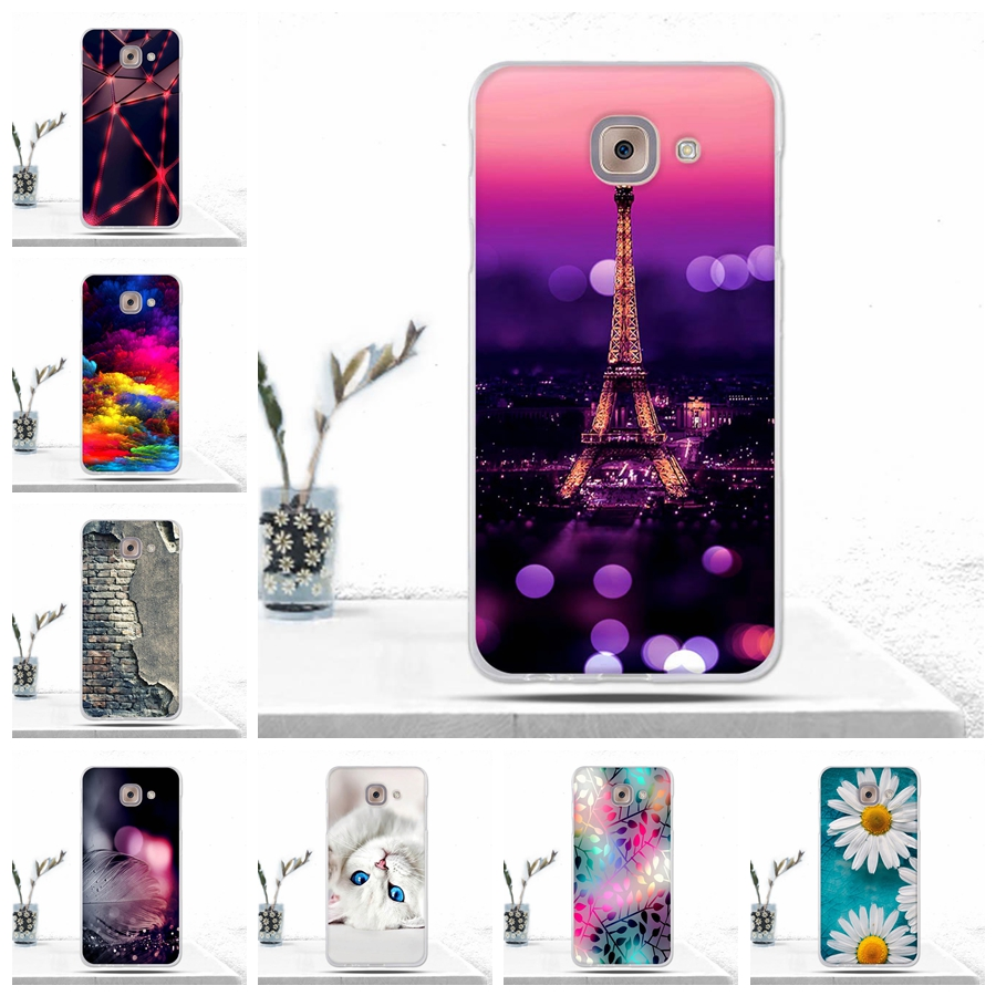 1256ac0434c Phone Case For Samsung Galaxy J7 Max G615F Cover Covers Coque Soft TPU  Silicone Back
