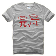 40b996973bd drop shipping Be Rational Get Real Nerdy Geek Pi Nerd T Shirts Men Cool  Math Nerd T Shirts Fashion Funny mens T-shirts big size