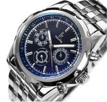 Panic buying male fully-automatic mechanical watch mens top brand luxury Military Date Stainless Band Flywheel watches