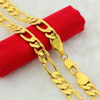 10mm Chunky Luxe Gold Filled Curb Cubaanse Kettingen Ketting Dikke Zware Kettingen Mannen Ketting Sieraden Gift